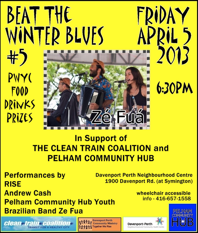 Beat The Winter Blues_April 5 2013