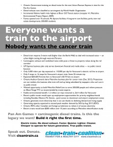 Clean trains flyer July 1 event 2013v2